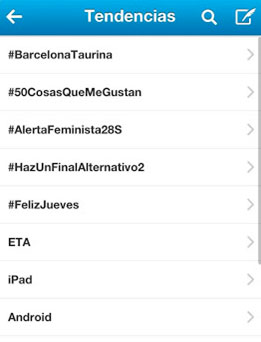 #BarcelonaTaurina, Trending Topic
